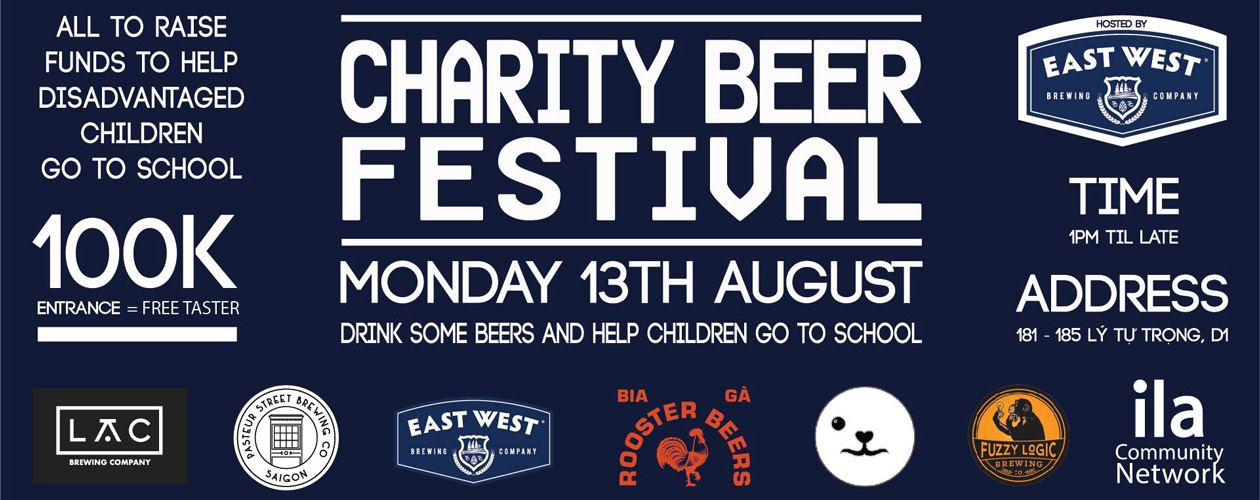 Charity Beer Festival @ East West Brewing Co.