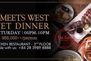 East Meets West Buffet Dinner @ Saigon Kitchen Restaurant