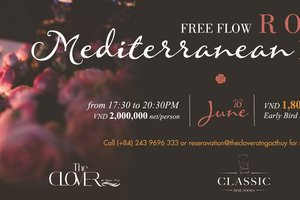 Rosé Mediterranean Party @ The Clover at Ngoc Thuy