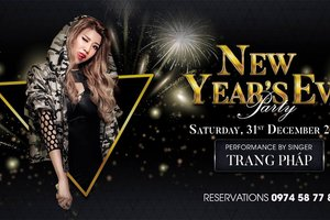 New Year Countdown Party 2017 at Air 360