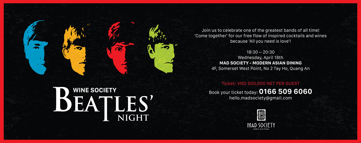 Wine Society: The Beatles' Night