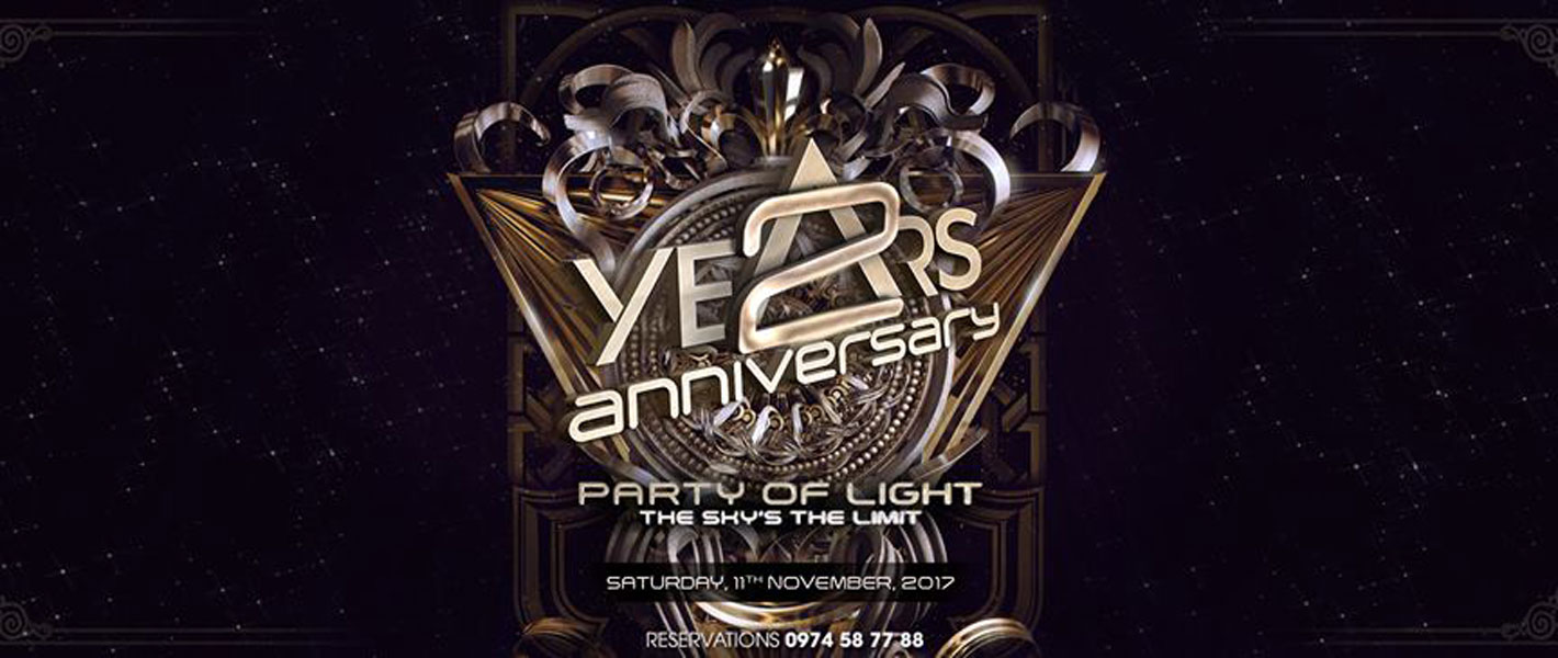 Party Of Light - The 2nd Anniversary Party @ Air 360 Sky Lounge