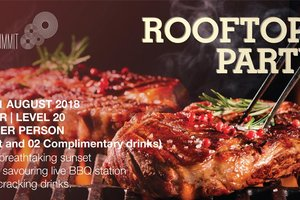 Rooftop BBQ Party @ Pan Pacific Hanoi