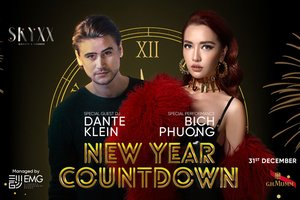 New Year Countdown @ SKYXX – Garden & Lounge