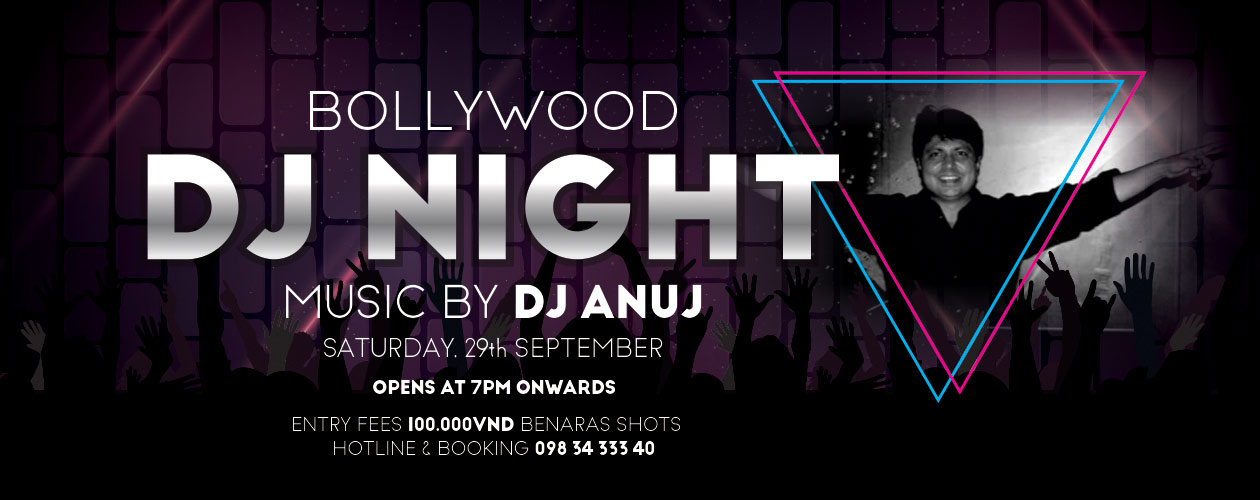 Bollywood DJ Night @ Benaras - Indian Restaurant & Lounge