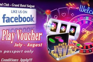 Like the Page & Get Free a $20 Voucher @ Grand Club