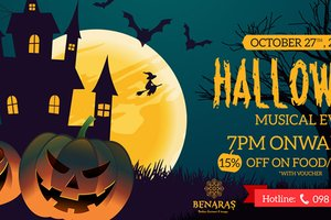 Halloween - Musical Eve @ Benaras - Indian Restaurant & Lounge