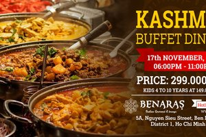 Kashmiri Buffet Dinner @ Benaras - Indian Restaurant & Lounge