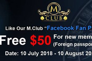 Like the Page & Get a $50 Voucher @ M Club