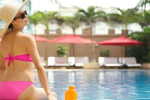 Oasis in the Heart of Saigon @ Caravelle Saigon's Pool