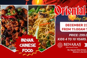 Oriental Buffet Brunch @ Benaras - Indian Restaurant & Lounge