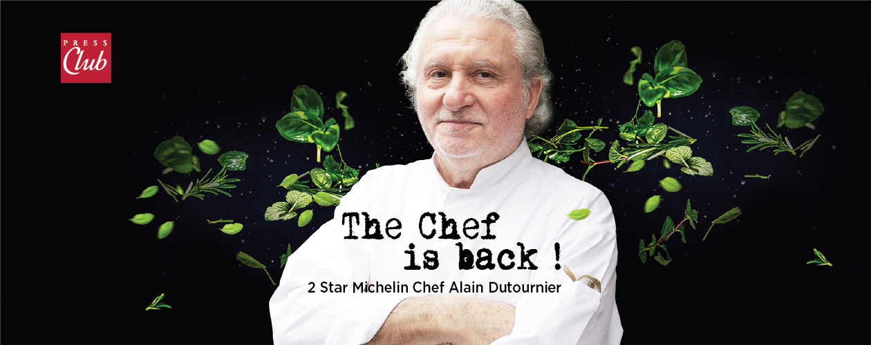 The Chef is back @ Press Club