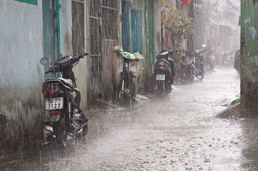 Rain in Saigon