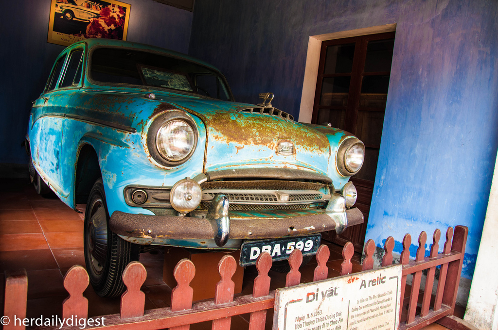 Car of Thich Quang Duc