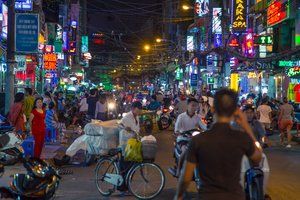 Saigon's Backpacker Street Bui Vien to Be Turned into a Pedestrian Zone