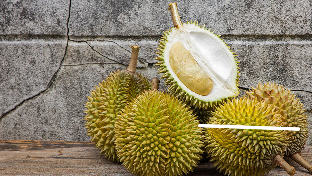 Eat a durian