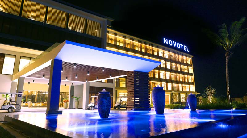 Novotel Phu Quoc Resort at night