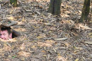 A visit to the Cu Chi Tunnels