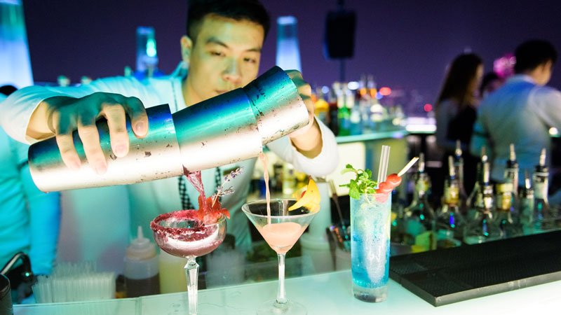 Air 360 Skybar HCMC Drink