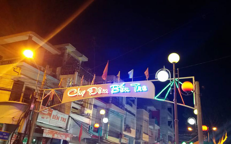 Ben Tre night market