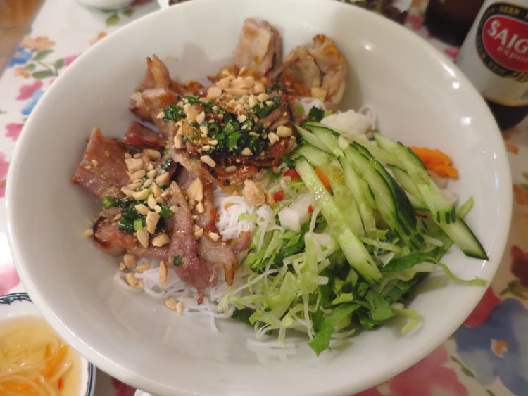 bun thit nuong top 10 food street