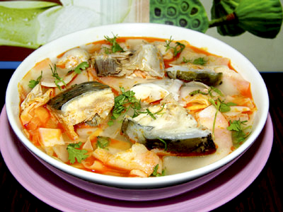Sour Bamboo Shoot Soup