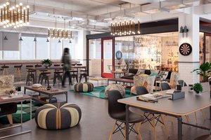 Co-Working Spaces: More Than Just an Office in a Café