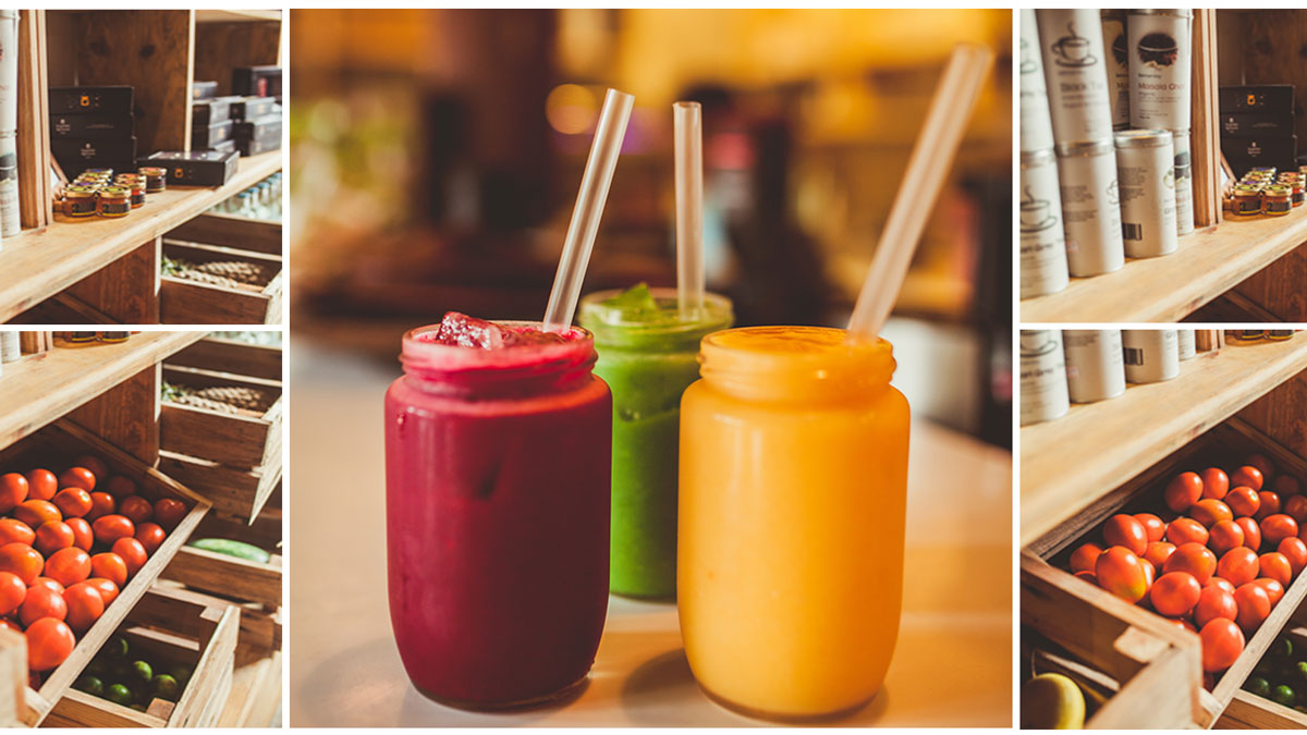 Juice Cafes Paris
