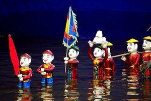 Family trip in Vietnam - Episode 8: Water Puppets