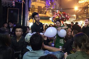 How Safe is Laughing Gas?: Balloons on Bui Vien