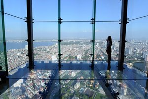 Observation Deck at The Lotte Center Hanoi