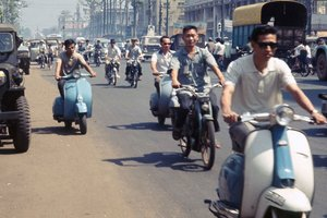 From Mobylettes to Hondas: The History of Motorcycles in Vietnam