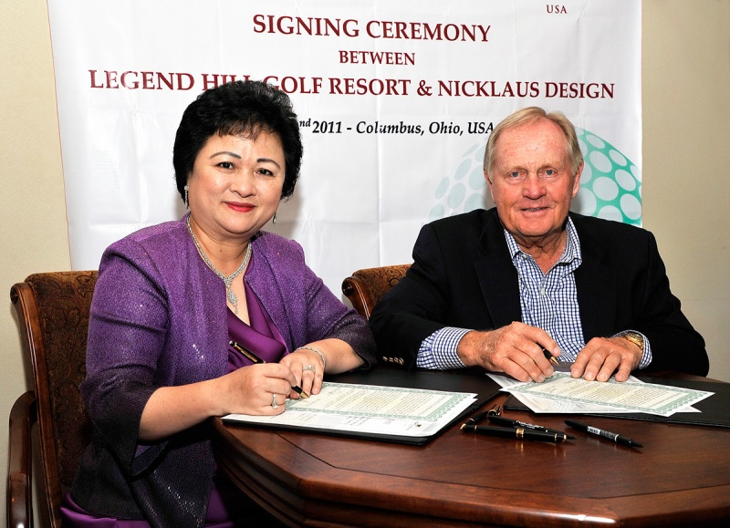 Madame Nga and Mr. Jack Nicklaus