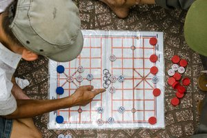 Photo Story: Pastimes and Board Games