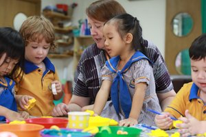Renaissance International School Saigon Offers Groundbreaking Pre-School