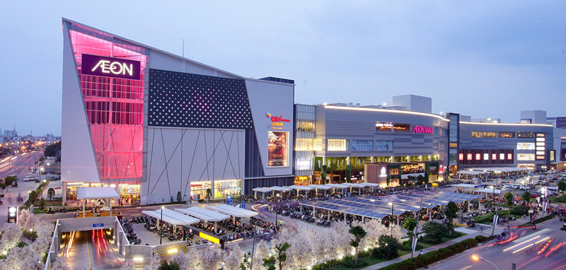 Malls in Saigon