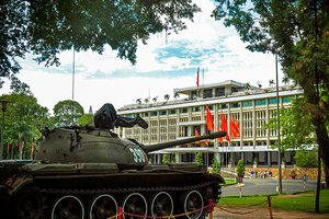 A little history of The Reunification Palace in Saigon