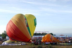 Up with Hot-Air-Balloon in Phan Thiet