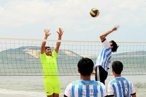 Annual Beach Volleyball Tournament 2015 hosted at Jibes Watersport Centre