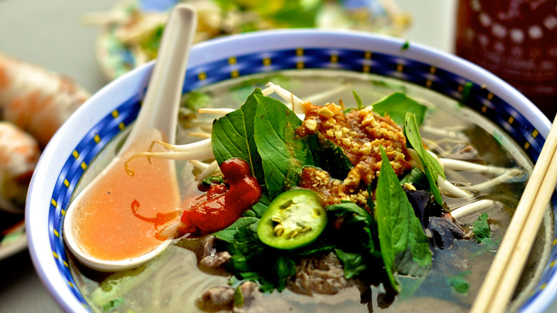 Pho is one of the healthiest dishes in Vietnam