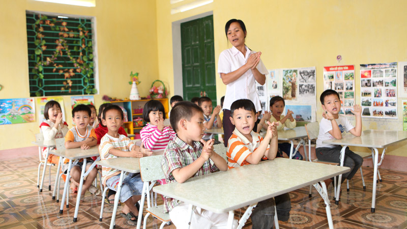 kindergarten in vietnam