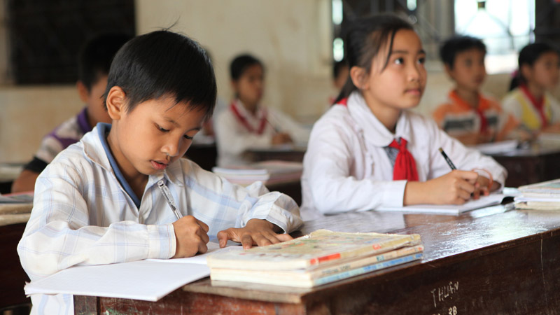 Primary school in Vietnam